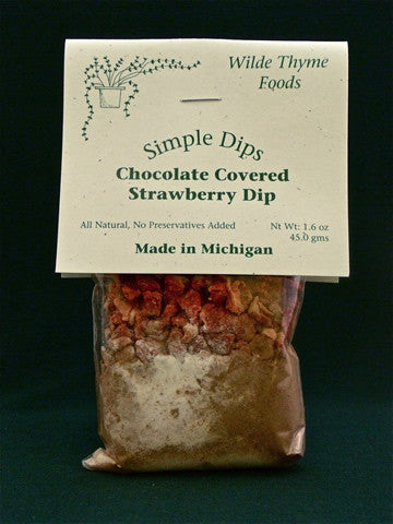 Chocolate Covered Strawberry Dip