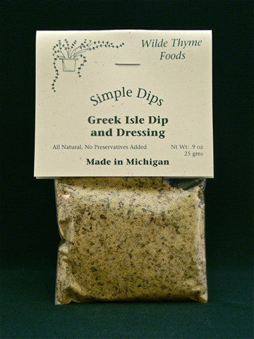 Greek Isle Dip or Dressing