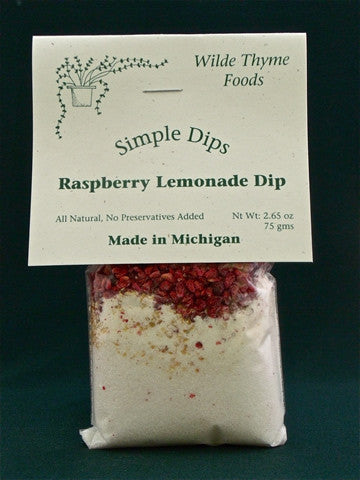 Raspberry Lemonade Dip