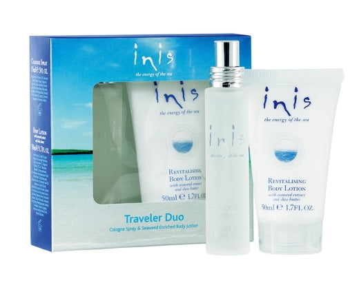 Inis Traveler Duo Cologne Spray & Body Lotion 50ml