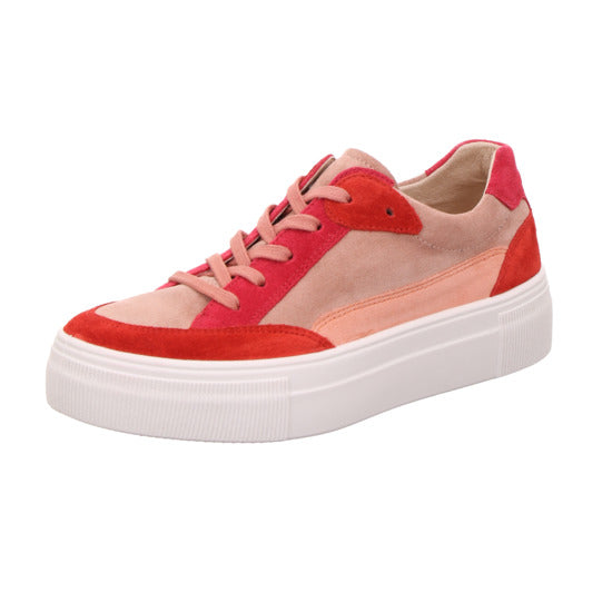 Legero Red Multi Coloured Sneaker Trainers