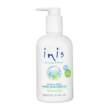 Inis Clean & Gresh Hand Sanitiser 300ml/10.14floz