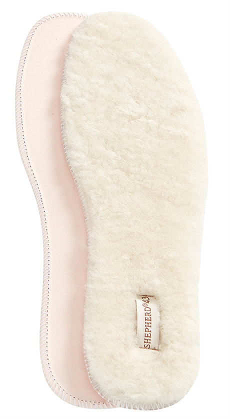 Shepherd of Sweden Moheda, Sheepskin Soles Natural White