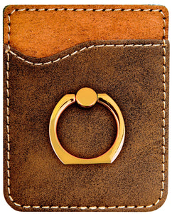 Stargate Leather Phone Wallet with Ring Stand