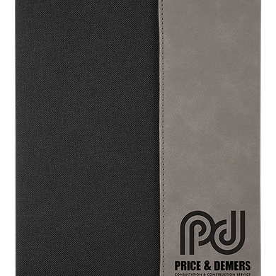 Riverdale Leatherette Canvas Portfolios 7