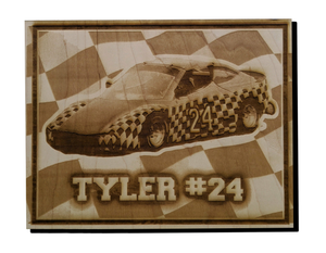 "8""x10"" Wood Photo Engraving"