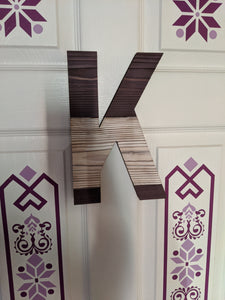"10"" Wooden Name Letters"