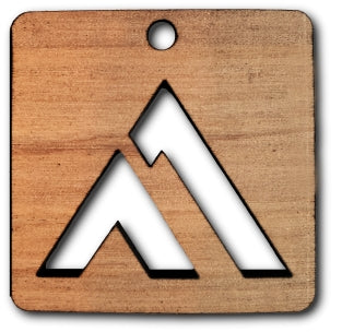 Peak Square Bag Tag