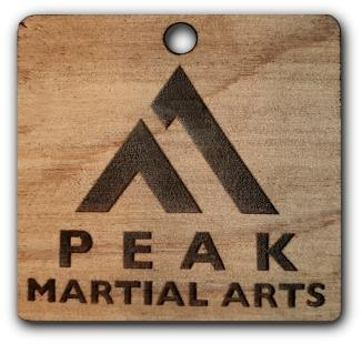 Peak Square Key Chain