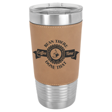 Load image into Gallery viewer, 20 oz. Leather Polar Camel Tumbler
