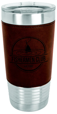 20 oz. Leather Polar Camel Tumbler
