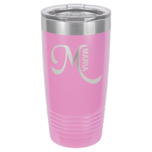 Load image into Gallery viewer, 20 oz. Tumbler w/Clear Lid