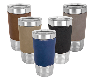 Riverdale 20 oz. Leather Polar Camel Tumbler
