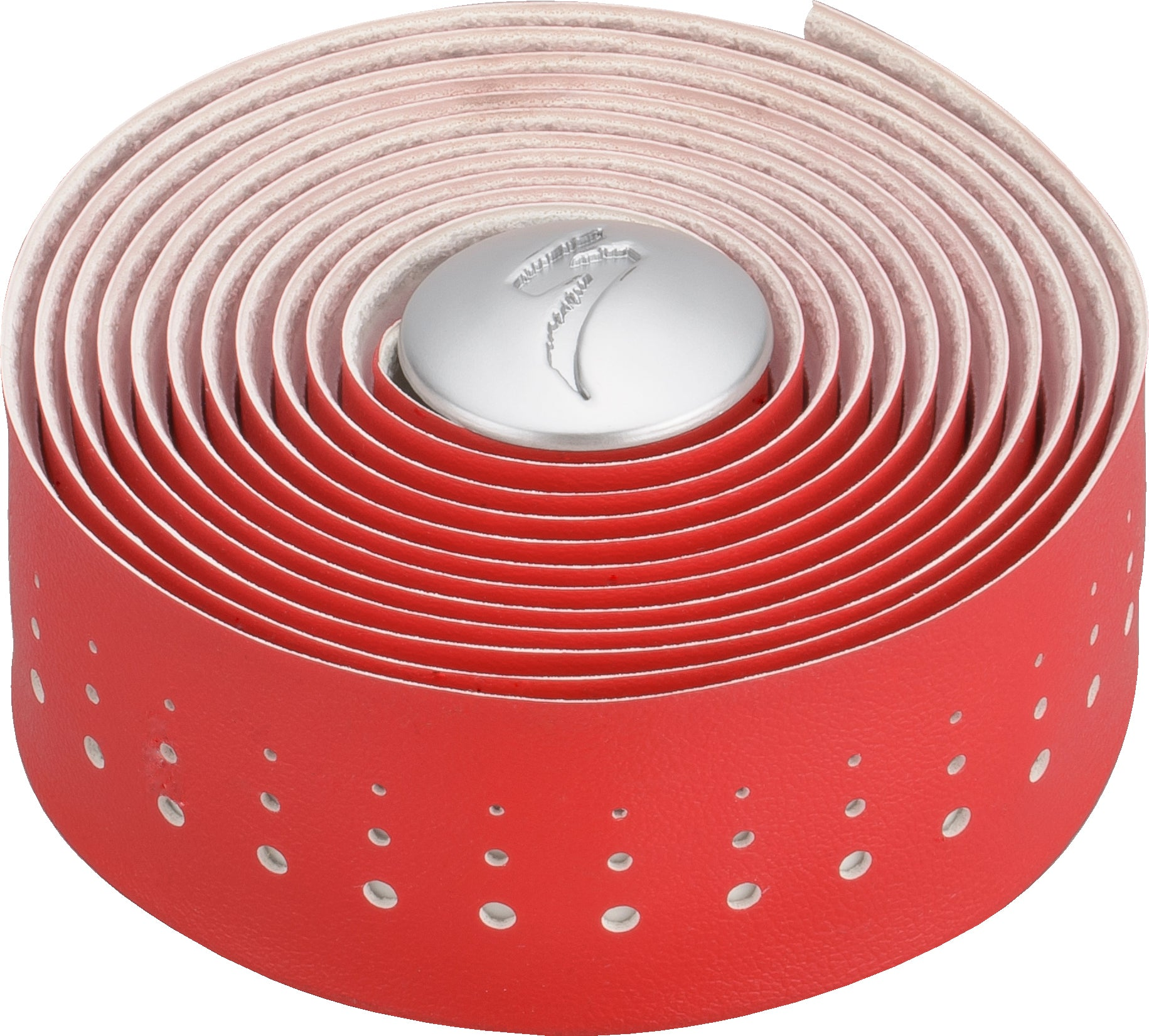 S-WRAP CLASSIC SYNTHETIC LEATHER TAPE RED/WHT