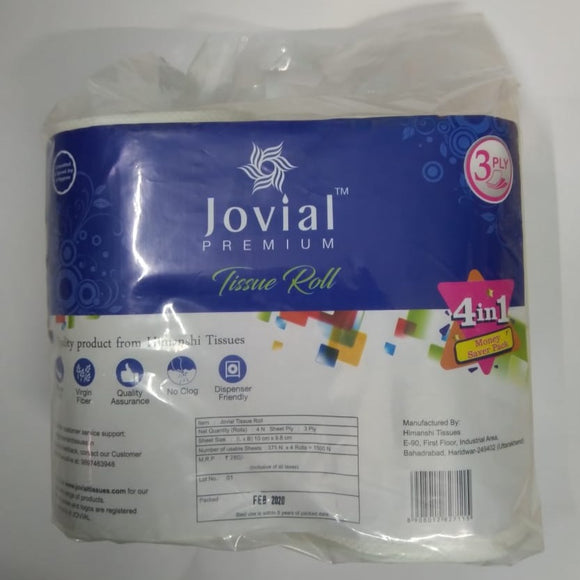Toilet Roll Pack of 4