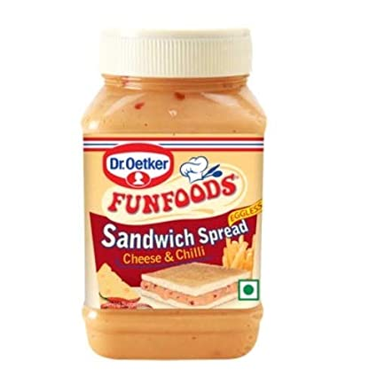 Dr. Oetker FunFoods Sandwitch Cheese & Chilli