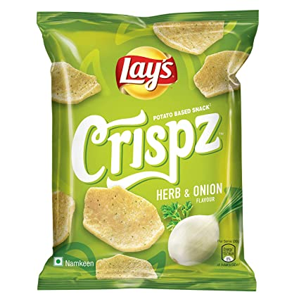 Lay's Crispz Herb & Onion