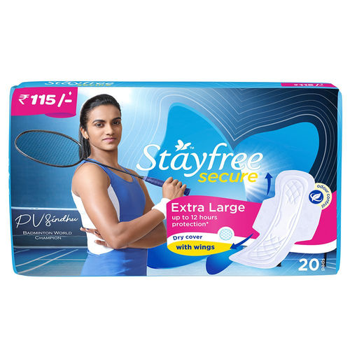 Stayfree Secure Extra Large 20 Pads