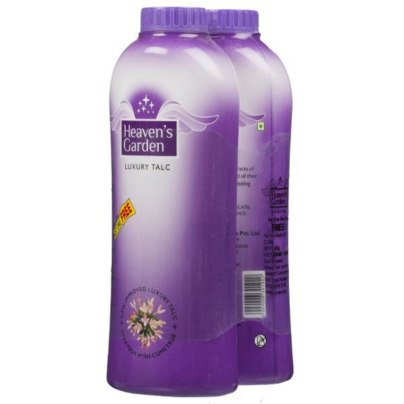 Heavens Garden Luxury Talc, Buy 1 Get 1 Free(300g + 300g)