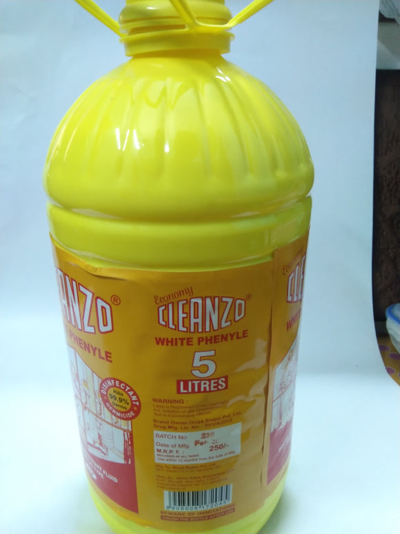 Cleanzo Brand Phenyl 5 litre