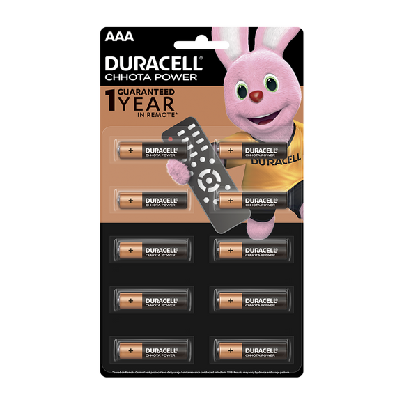 Duracell Chota Power Battery AAA (2 piece)