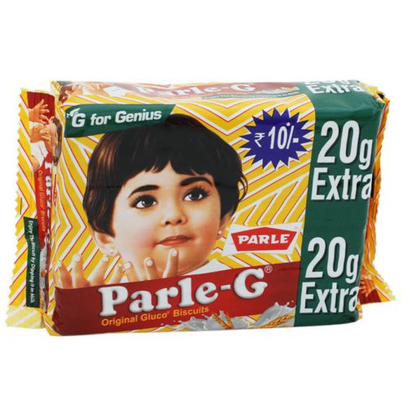 Parle G Biscuits (Pack of 10)