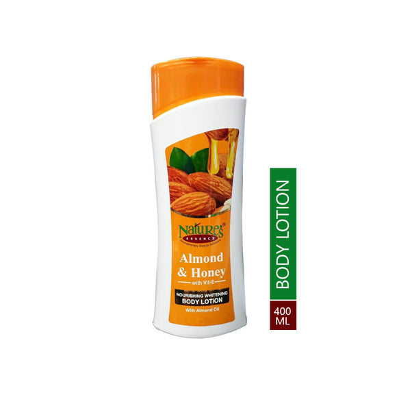 Natures Almond & Honey Nourishing Whitening Body Lotion, 400ml