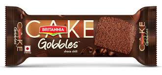 Britannia Gobbles Choco Chip Cake (Pack of 3)