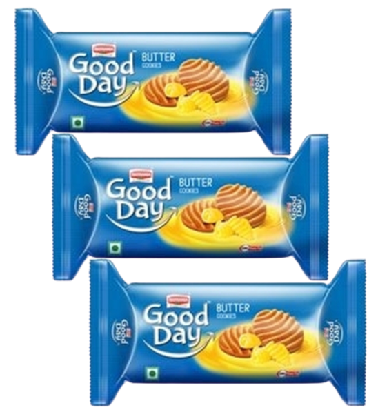 Good Day Butter Cookies (Pack of 3)