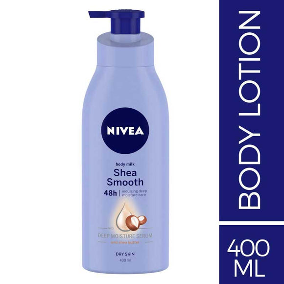 Nivea Body Milk Shea Smooth Body Lotion 400ml