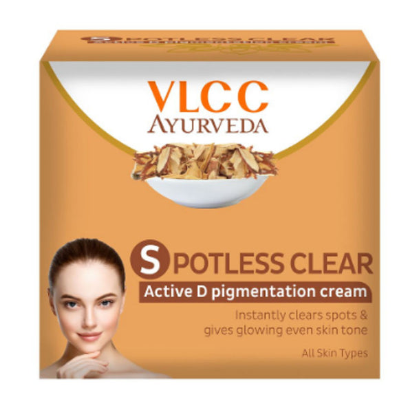 VLCC Spotless Clear Active D Pigmentation Cream 50g
