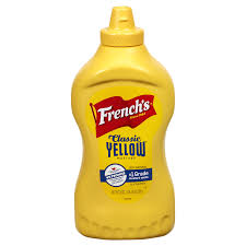 FRENCH'S YELLOW MUSTARD- 12OZ BOTTLE