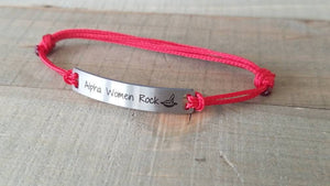 Alpha Women Rock Charity Bracelet