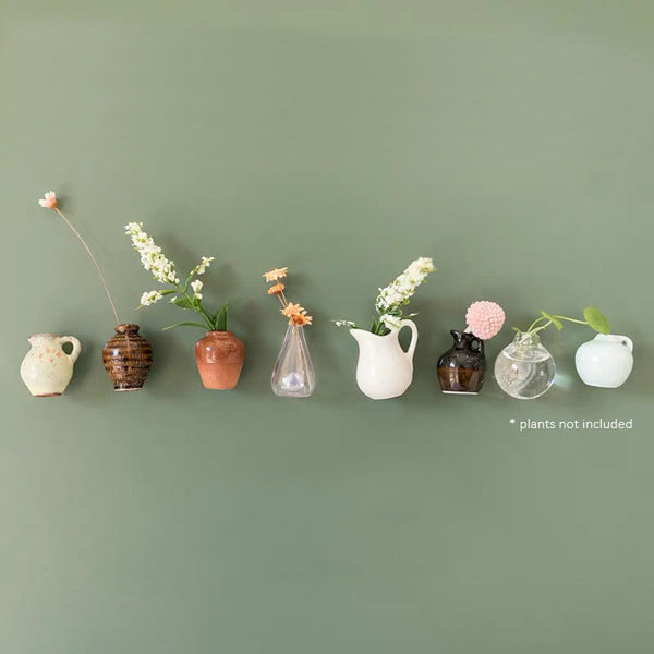 VASES mini magnets for lockers, notice boards, & fridges