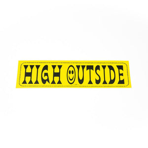 Dangle Supply - High Outside Bumper Sticker