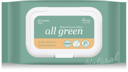 Ariul All Green Daily Feminine Wipes