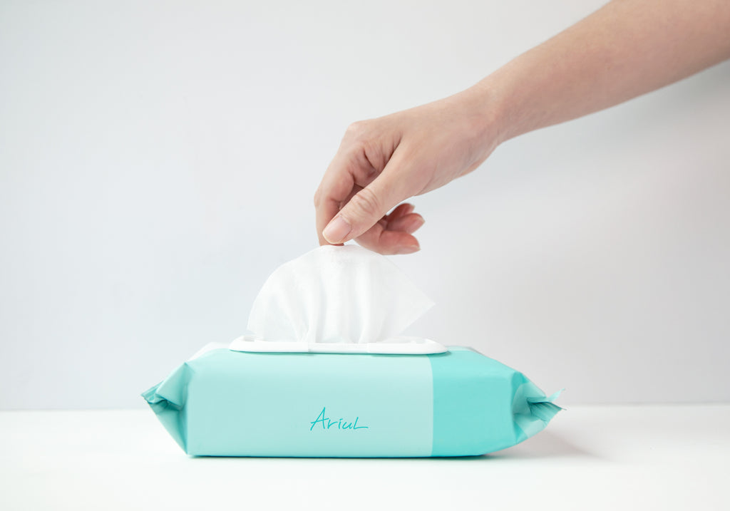 Ariul Stress Relieving Hand Sanitizing Tissue Bundles