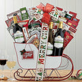 Christmas Wine Gift Basket | Blakemore Trio Delivery w/ Snacks