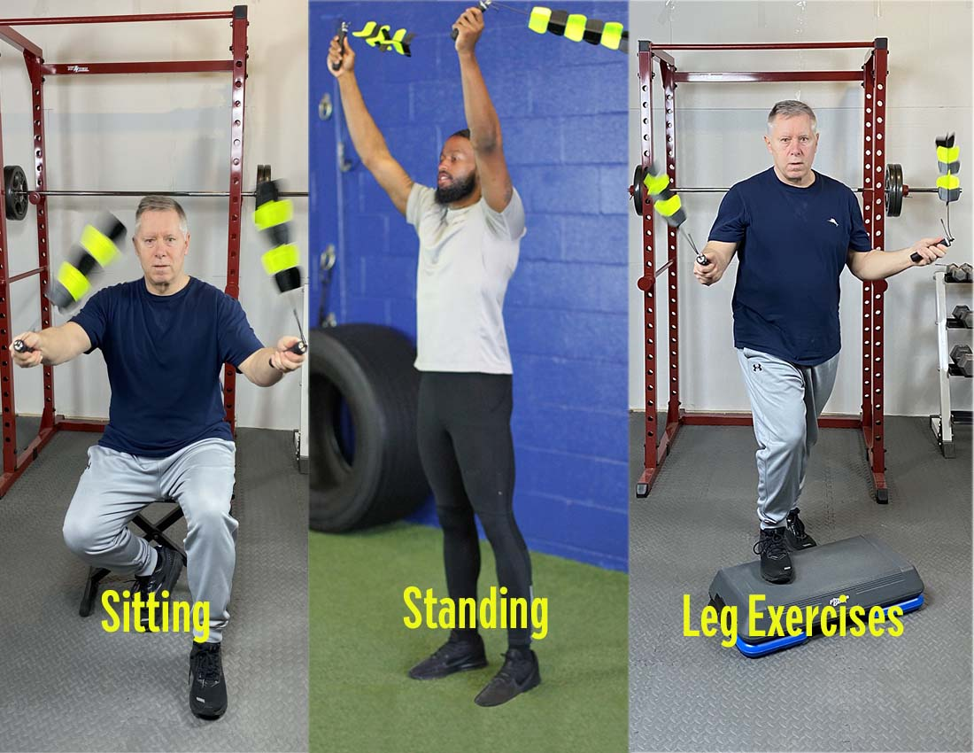 Three-men-using-Spin-Strong-while-sitting-standing-or-with-leg-exercise