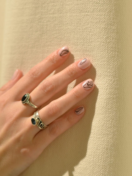 Babetown Vacation Nails Stickers