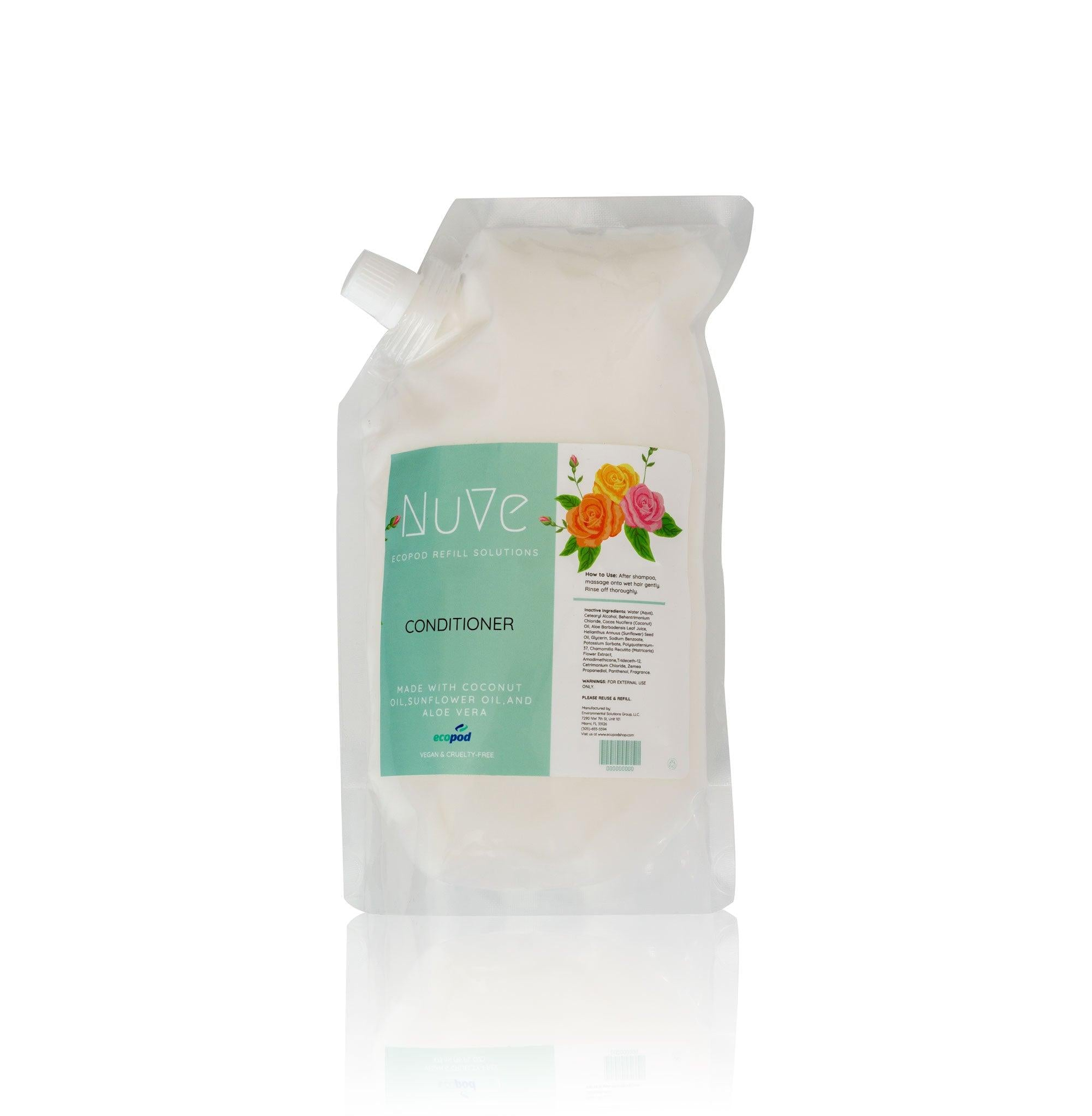 Hair Conditioner Refill Pouch