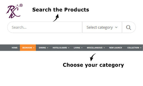 Search and Select by Categoy