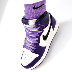 COMMENT INVESTIR DANS LES SNEAKERS (DÉBUTANT) NIKE AIR JORDAN 1 RETRO HIGH OG COURT PURPLE WHITE