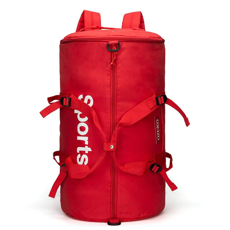 """SPORTS"" Sac à dos / Sac de  sport Rouge - URB1™ - URB1™ Vêtements Streetwear mode boutique streetwear shop"