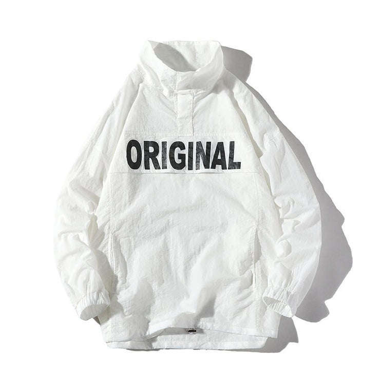 """ORIGINAL"" Veste coupe vent streetwear Vert - URB1™ - URB1™ Vêtements Streetwear mode boutique streetwear shop"