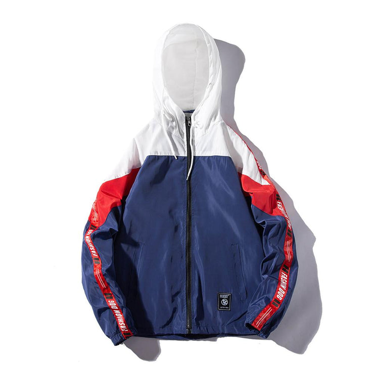 LES KOMAN Spring Autumn Men/Women Jacket Couple Casul Streetwear Hooded Sports Coats Windbreaker Outwear URB1™ Vêtements Streetwear URB1™ Vêtements Streetwear les-koman-spring-autumn-me