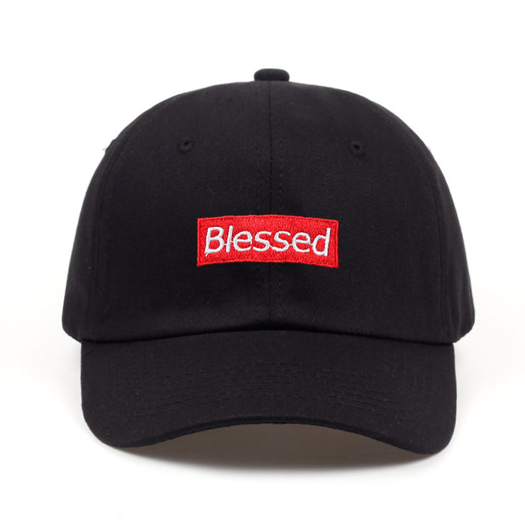 brand men women fashion Blessed Custom Unstructured Dad Hat Adjustable baseball Cap New 2018 URB1™ Vêtements Streetwear URB1™ Vêtements Streetwear brand-men-women-fashion-blessed-custom