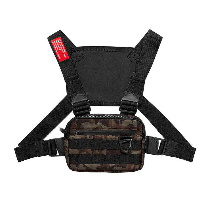 Trendy Chest Rig Bag for Men Women Outdoor Streetwear Hip Hop Chest Bags Men Disco Tactical Vest Small Square Chest Packs New URB1™ Vêtements Streetwear URB1™ Vêtements Streetwear trend