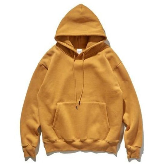 INFLATION 2019 Autumn Mens Thick Fleece Hoodies Hip Hop Pure Hoodies Thick Velvet Fabrics Winter Hoodies For Men Women 167W17 URB1™ Vêtements Streetwear URB1™ Vêtements Streetwear infla