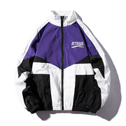 """CHAMPION"" Veste coupe vent Violet - URB1™ - URB1™ Vêtements Streetwear mode boutique streetwear shop"